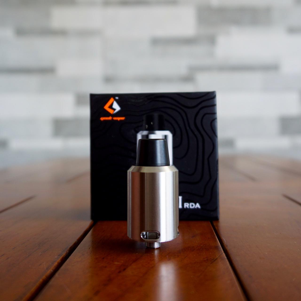 Authentic Geek Vape Tsunami Rda Habis Vanilla Cube Store Geekvape Peerless 24mm Atomizer April 24 2016