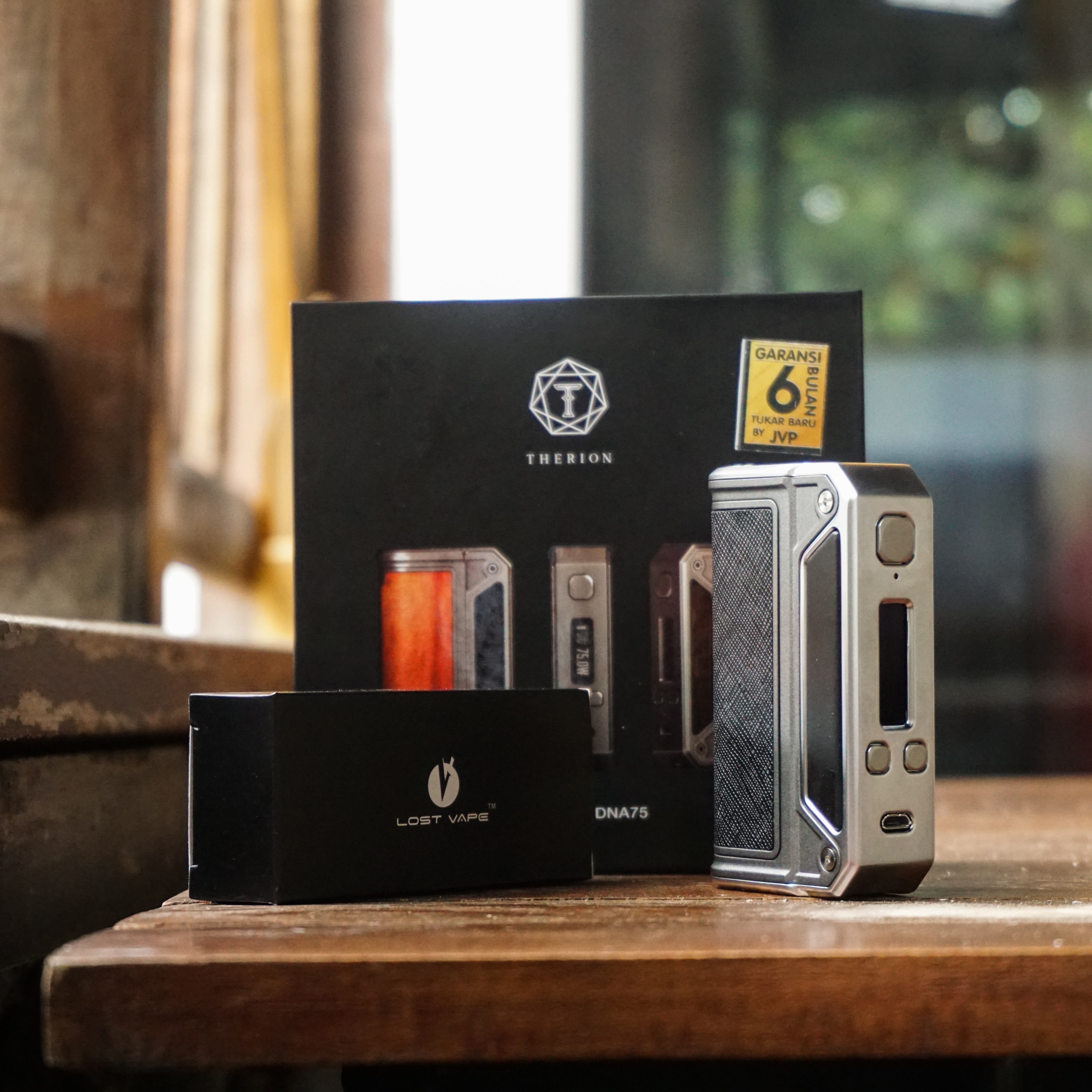 lost vaoe therion 200 upgrade firmware